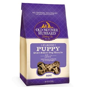 Old Mother Hubbard Classic Puppy Biscuits Mini Baked Dog Treats - Best Dog Treats for Puppies: Various Natural Ingredients