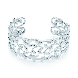 Tiffany & Co. Olive Leaf Cuff - Best Jewelry for 25th Wedding Anniversary: Strengthen your bond