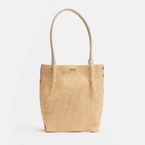 Hammitt Oliver MED - Best Tote Bag Designers: Red Cotton Twill Lining