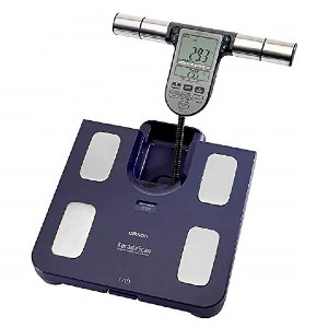 Omron HBF-511BE Blue Family Body Comp Monitor - Best Electronic Weight Scale: Hand-to-foot sensors