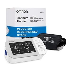 Omron Platinum Blood Pressure Monitor - Best Blood Pressure Monitors to Buy: It's totally wireless!