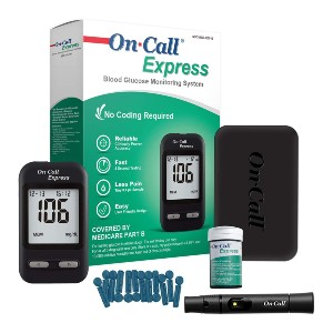 On Call Express Diabetes Testing Kit - Best Glucometer on the Market: Best bang for your bucks