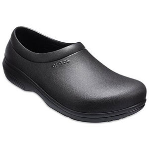 Crocs On The Clock Work Slip-On - Best Waterproof Shoes for Nurses: Fit is Relaxed with Tapered Fit In The Back of The Heel