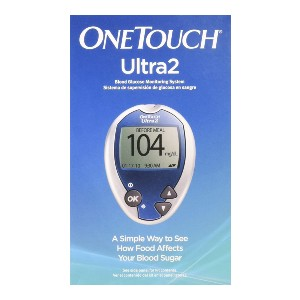 One Touch Ultra2 System Kit 1  - Best Glucometer for Home Use: Super easy to use