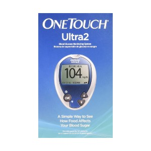 One Touch Ultra2 System Kit 1  - Best Blood Glucose Meters: See the impact of your food choices