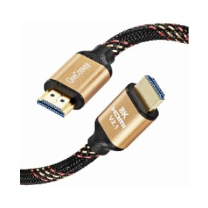 OneConvey 8K HDMI Cable - Best HDMI Cables for Apple TV 4K: Universal Compatibility