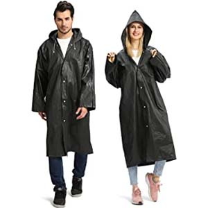 Opret Portable EVA Raincoats for Adults - Best Raincoats for Disney: Lightweight and easy to stow