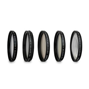 Opteka 5 Piece Filter Kit  - Best ND Filters for Street Photography: Exotic Anti-Reflection Coatings