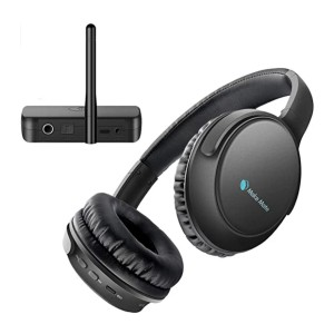 Makemate BKM200 Digital TV Headsets - Best Wireless Headphones for Movies: It won't forget your last volume setting