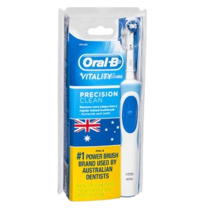 Oral-B Vitality Precision Clean  - Best Electric Toothbrush: Superior 2D Cleaning Action Oscillates and Rotates