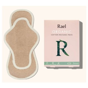 Rael Organic Cotton Reusable Pads - Best Eco-Friendly Menstruation Products: Stay fresh without odor