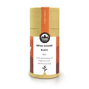 YOUNG MOUNTAIN TEA Organic Nepali Golden Black - Best Tea to Drink in the Morning: Luxuriously Smooth and Creamy Body