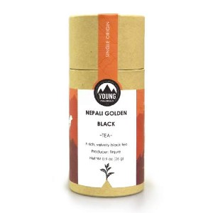 YOUNG MOUNTAIN TEA Organic Nepali Golden Black - Best Tea for Headaches: Rich Black with Luscious Layers of Dark Honey