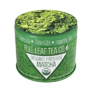 Full Leaf Tea Company Organic Premium Matcha - Best Tea for Weight Loss: Silky Smooth, Vibrant in Color