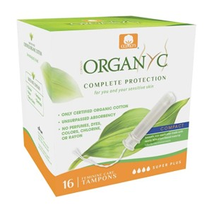 Organyc Super Plus Flow - Best Organic Tampons for Heavy Flow: Soft yet strong