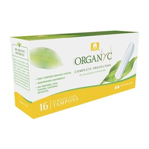 Organyc Complete Protection - Best Organic Tampons for Beginners: For sensitive skin