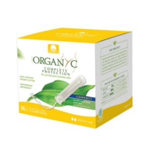 Organyc 100% Certified Organic Cotton Tampons - Best Organic Pads and Tampons: Plant-based applicator
