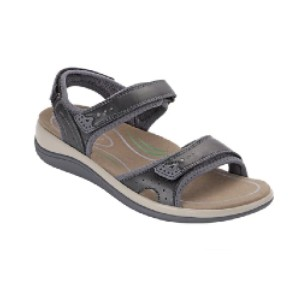Orthofeet Malibu Two Way Strap - Best Sandals for Knee Pain: Two-Way Strap System