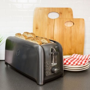 Oster 4 Slice Long Short Toaster - Best Toaster Long Slot: Quick Toaster