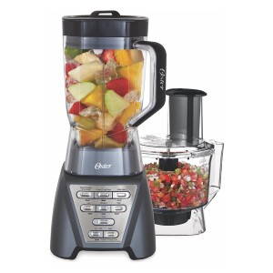 Oster Pro 1200 - Best Blender Food Processor Combo: Includes a 5-Cup Food Processor