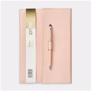 Otto A5 Tri-Fold Notebook with Pen Pocket  - Best Notebooks for College: Comes with A Pocket for Storing A Pen or Pencil