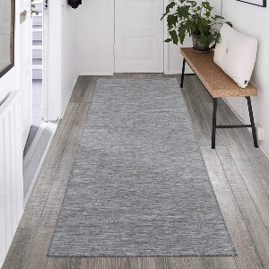 Ottomanson Sundance Collection Reversible Outdoor Runner Rug - Best Rug for Entryway: Best for narrow entryway