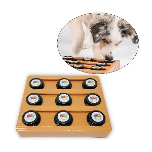 OurPets Waffle & Sushi Interactive Puzzle Game - Best Dog Toys to Keep Them Busy: Great Sushi Puzzle Toy
