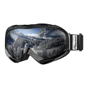 OutdoorMaster OTG Ski Goggles - Best Anti-Fog Goggles: Adults and Youth Goggle