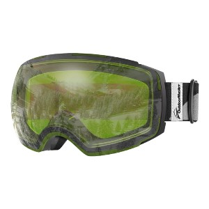 OutdoorMaster Meander Ski Goggles  - Best Goggles for Night Skiing: Frameless Design