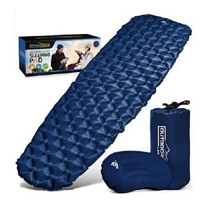 Outdoorsman Lab Ultralight Sleeping Pad - Best Sleeping Pads for Hammocks: Comes with a pillow!