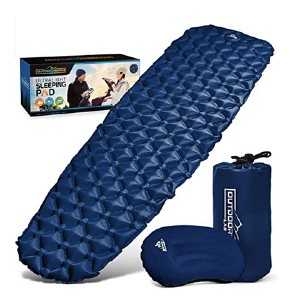 Outdoorsman Lab Ultralight Sleeping Pad - Best Sleeping Pads for Winter Camping: Comes with a pillow!