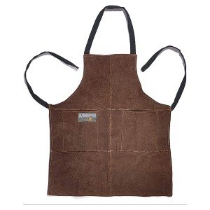 Outset Leather Grill Apron - Best Grilling Aprons: Leather Material Apron