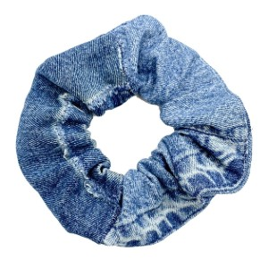 Rare Stance Oversized Denim Scrunchie - Best Hair Scrunchies: Premium Denim from 100% Textile Waste