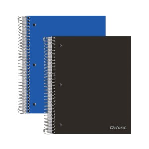 Oxford Spiral Notebooks - Best Notebooks for College: Contains Smooth Paper That Resists Ink Smearing