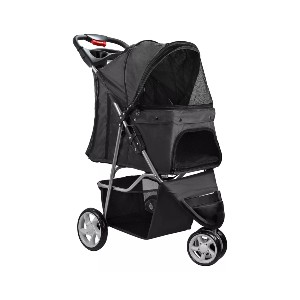 Paws & Pals Oxgord  - Best Dog Strollers for Running: Zippered Closure Keeps Your Fur Baby from Getting Out