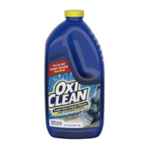 OxiClean Large Area Carpet Cleaner - Best Cleaning Solution for Upholstery: Deep Cleaning Action