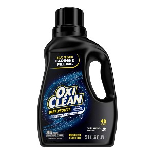 OxiClean Dark Protect Liquid Laundry Additive - Best Laundry Detergents to Keep Colors from Fading: Great Anti-Fade Technology