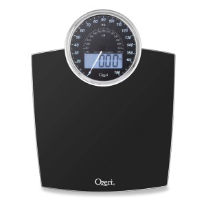 Ozeri Rev 400 lbs (180 kg) Bathroom Scale - Best Weight Scale to Buy: The blend of retro and modern