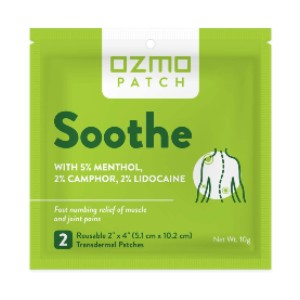 Ozmo Patch Soothe - Best Lidocaine Patches: Extra Long to Provide Cool Relief