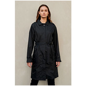 PAQME WOMENS 'TRENCH' RAINCOAT - Best Raincoats for College Students: For Both Casual and Conservative Styling