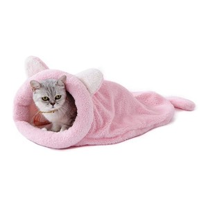 PAWZ Road Self-Warming Kitty Sack - Best Cat Beds for Kittens: Gently hug your kitten
