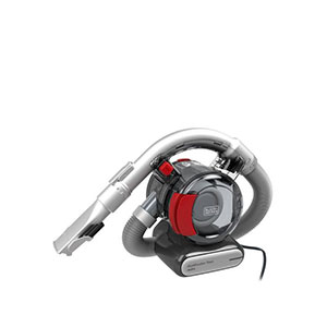 Black+Decker PD1200AV-XJ Flexi Car Vac with 5cm Cable & Storage Bag - Best Car Vacuums: Unique Integrated Hose to Reach Tight and Hard to Reach Areas