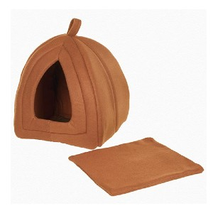 PETMAKER Cat Igloo Bed - Best Cat Beds for Older Cats: Adorable tent with cushion