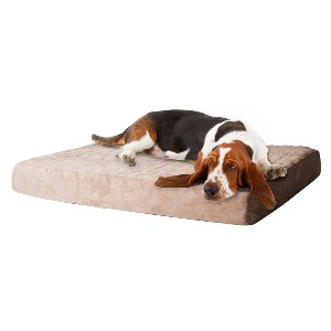 PETMAKER Memory Foam Dog Bed with Removable Cover - Best Dog Beds for Large Dogs: Bed with Orthopedic Memory Foam