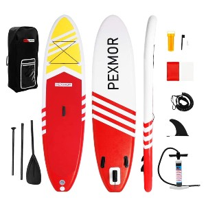 PEXMOR Inflatable Stand Up Paddle Board  - Best Paddleboard for Fishing: Best for budget