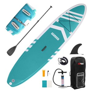 PEXMOR Inflatable Stand Up Paddle Boards - Best Paddle Board for Ocean: Extra Stability Paddle Board