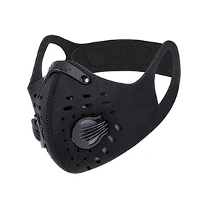 PISIQI Dust Mouth Face Cover Half Face  - Best Masks for Glasses Wearers: Double Strapping System Mask