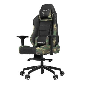 Vertagear PL6000 - Best Gaming Chairs for Back Pain: Ultra Premium High Resiliency Foam