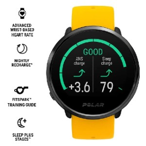 POLAR IGNITE - Best Smartwatches for Heart Health: Advanced Wrist-Based Heart Rate Watch