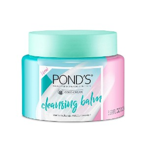 POND'S Makeup Remover Cleansing Balm - Best Cleansing Balm for Sensitive Skin: Solid Balm Texture Cleanser